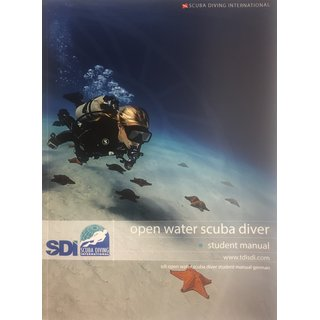 SDI Open Water Scuba Diver Manual